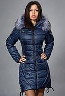 Оригинальная теплая куртка на зиму
