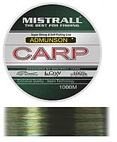 Карповая леска Mistrall Amundson Carp 1000m 0,3