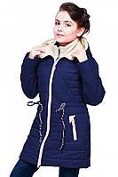 Модное демисезонное пальто для девочки