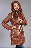 Оригинальная теплая зимняя курточка