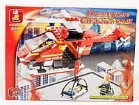 """Конструктор SLUBAN """"Пожарные спасатели"""" 155 дет, M38-B0218"""
