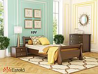 Кровать Диана односпальная Бук Щит 101 (Эстелла-ТМ)