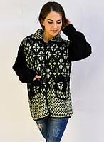 Красивый свитер застежка на пуговицы