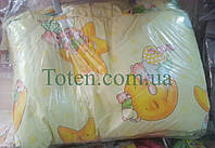 Защита для детской кроватки Мишки в небесах