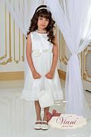 Нарядное платье для девочки Viani МД9 Размер 7-8 лет