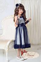 Нарядное платье для девочки Viani МД2 Размер 3-4 года