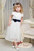 Роскошное праздничное платье для девочки Viani МД6 с кантом Размер 5-6 лет