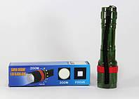 Тактический фонарик Bailong BL 5577, фонарик шокер, мощный ручной фонарь