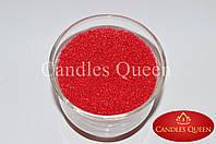 Воск для насыпной свечи цвет коралловый  500 г