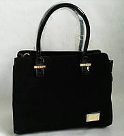 Стильная замшевая сумка 0655