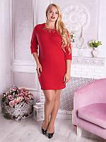 Платье женское с украшением №1665