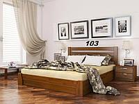 Кровать Селена Бук Щит 103 (Эстелла-ТМ)