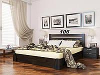 Кровать Селена Бук Щит 106 (Эстелла-ТМ)