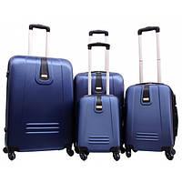 Дорожный пластиковый чемодан  168 (4 в 1) Gravitt