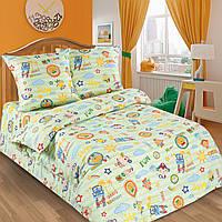 Ткань для детского постельного белья, поплин Улыбка