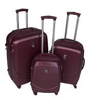 Дорожный пластиковый чемодан L2 (3 в 1) Larsen