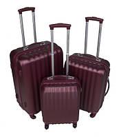 Дорожный пластиковый чемодан L1 (3 в 1) Larsen