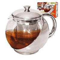 Чайник Заварник стекло 750 мл. код MS-0144