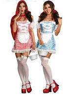 Двухсторонний костюм Дороти и Красной Шапочки