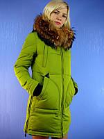 Зимняя женская парка, deify.com.ua  пуховики Visdeer  6059 (S-2XL) DEIFY, PEERCAT, SYMONDER, COVILY, DECENTLY