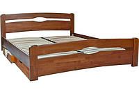 """Кровать двухспальная """"Нова с ящиками"""", дерево ( ТМ Олимп)"""