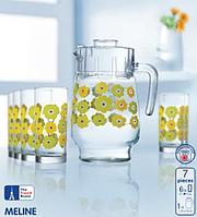 Набор стаканов для сока с графином Luminarc L2419
