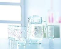 Набор стаканов для сока с графином Luminarc L5807