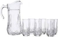 Набор стаканов для сока с графином Luminarc 61955