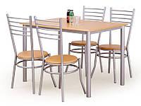 Столовый  комплект Halmar Elbert стол + 4 стула