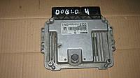 Блок управления двигателем 1.9 Multijet Fiat Doblo / Фиат Добло 0281013129, 55204858
