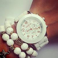 Часы женские наручные Geneva силиконовые