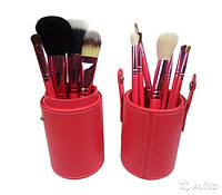 Набор кистей для макияжа MAC 12 шт в тубусе