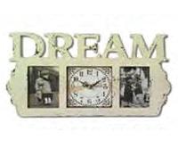 Часы-Фоторамка настенный деревянный Мечта Your Time 03-203