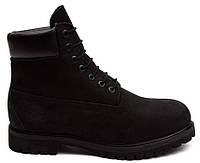 Мужские ботинки Timberland 6 (Тимберленд) черные