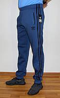 Мужские зимние штаны Adidas синие