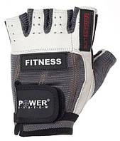 Перчатки спортивные, женские Power System FITNESS PS 2300 XL Grey-white