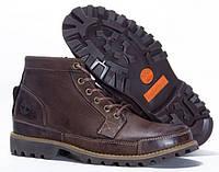 Мужские ботинки Timberland Earthkeepers Rugged Mid (Тимберленд) коричневые