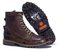 Мужские ботинки Timberland Earthkeepers Rugged High (Тимберленд) коричневые