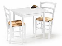 Белый столовый комплект Halmar Lance стол+2 стула