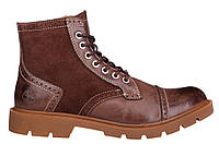 Мужские ботинки Timberland Oxford (Тимберленд) коричневые