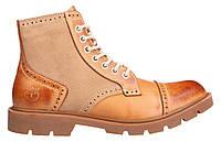 Мужские ботинки Timberland Oxford (Тимберленд) желтые