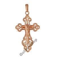 Крест позолоченный 585пр. №530337