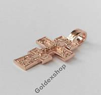 Крест, Крестик позолоченный 585 пр. №530613