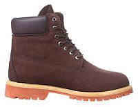 Мужские ботинки Timberland 6 (Тимберленд) коричневые