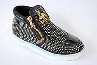Ботинки-кеды для девочки новинка р 31-36