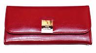 Кошелек Chanel (Шанель) 0284 женский из натуральной кожи на два отдела с монетницей снаружи