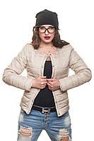 Короткая женская куртка осень-весна Эмма жемчуг 42-54 размеры
