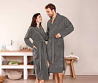 Велюровый халат унисекс от ТСМ р. S, Германия