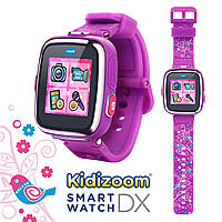 VTech Умные часы для детей Смарт часы Фотоаппарат Kidizoom Smartwatch DX Violet
