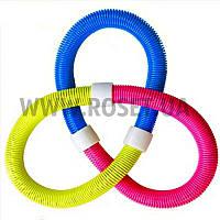 Обруч гимнастический мягкий - Hula Hoop (пружинный)